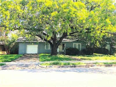 Austin Single Family Home For Sale: 5019 W Frances Pl