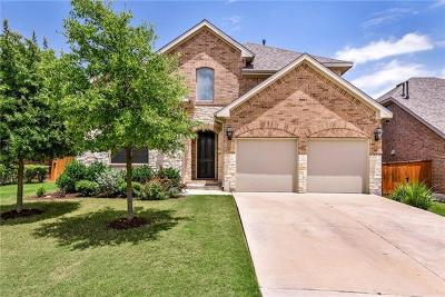 Georgetown Single Family Home For Sale: 324 Fort Cobb Way