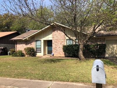 Austin Single Family Home For Sale: 10508 Berthound Dr
