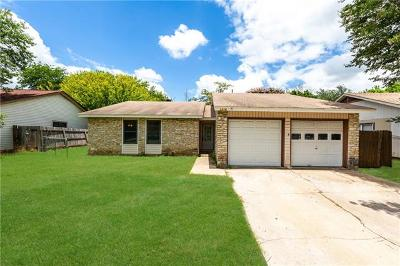 Round Rock TX Single Family Home For Sale: $192,000