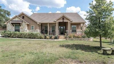 Burnet County Single Family Home For Sale: 201 Thomas Ridge Rd