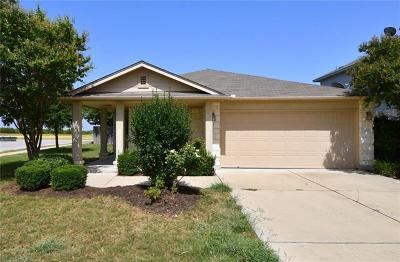 Leander Single Family Home For Sale: 1220 Hensley Dr