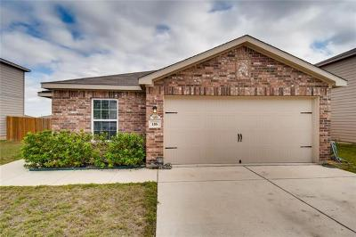 Jarrell Single Family Home For Sale: 116 Bridges Ln