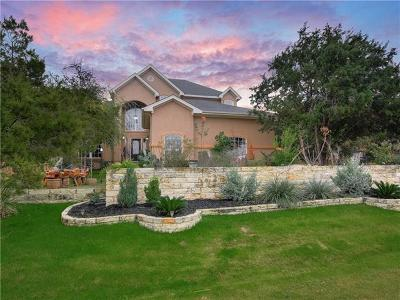 Lakeway Single Family Home For Sale: 206 Clubhouse Dr