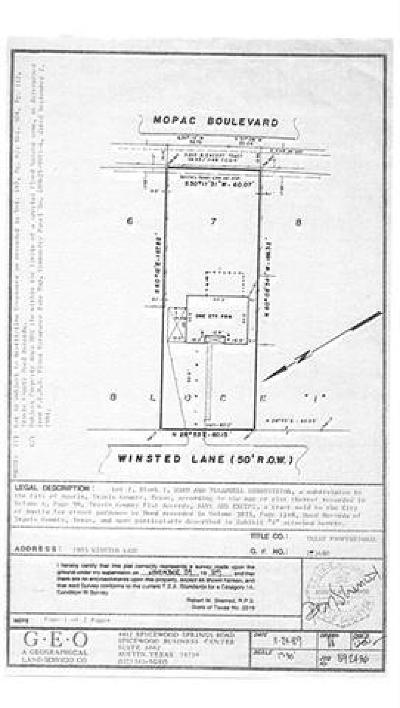Residential Lots & Land For Sale: 1903 Winsted Ln