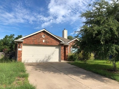 Leander Single Family Home Pending - Taking Backups: 121 Dove Song Dr