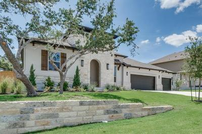 Dripping Springs Single Family Home For Sale: 547 Peakside Cir