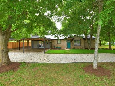Bastrop Single Family Home Pending - Taking Backups: 1255 Lovers Ln