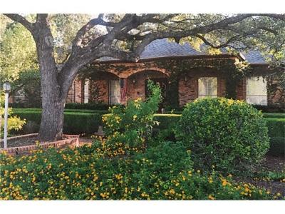 Hays County, Travis County, Williamson County Single Family Home For Sale: 6907 Western Oaks Blvd