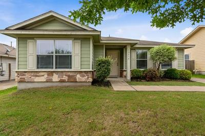 Manor Single Family Home Pending - Taking Backups: 13516 Briarcreek Loop