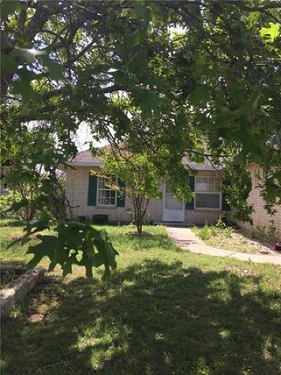 Leander Single Family Home Pending - Taking Backups: 800 Eagles Way