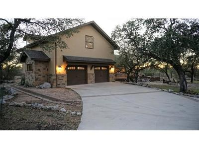 Spicewood Single Family Home For Sale: 314 Vista View Trl