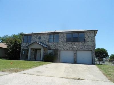 Killeen TX Single Family Home For Sale: $96,000