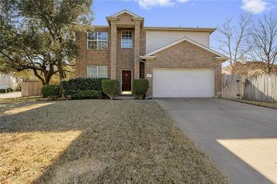 Cedar Park Single Family Home For Sale: 1418 Nandina Dr