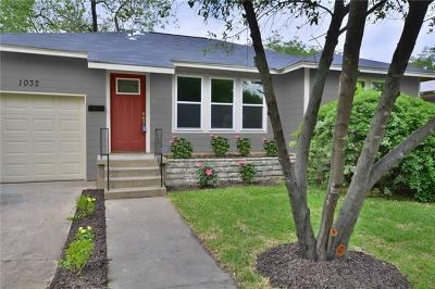 Austin Single Family Home For Sale: 1032 E 43rd St