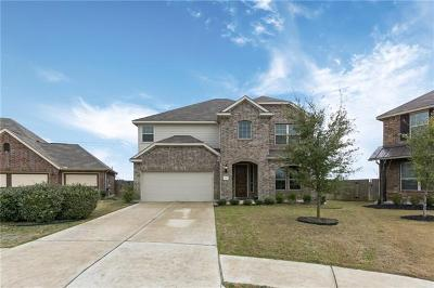 Hutto Single Family Home For Sale: 501 Open Range Dr