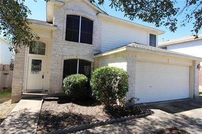 Round Rock Single Family Home For Sale: 3518 Rock Shelf Ln