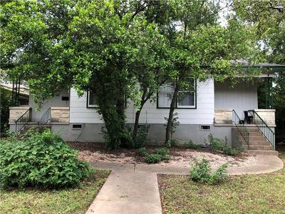 Austin Multi Family Home For Sale: 2010 & 2010 1/2 Kenwood Ave