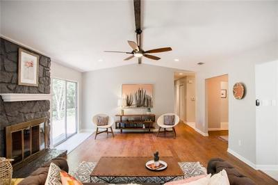 Travis County, Williamson County Single Family Home For Sale: 3201 Peddle Path