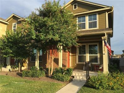 Cedar Park Condo/Townhouse For Sale: 1024 Lost Pines Ln