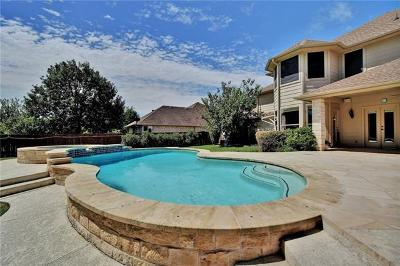 Round Rock Single Family Home Pending - Taking Backups: 16617 Malaga Hills Dr