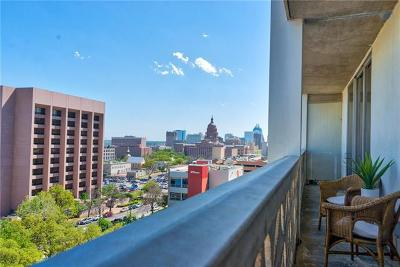 Austin Condo/Townhouse For Sale: 1801 Lavaca St #8G
