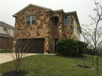 Kyle Single Family Home For Sale: 371 Buckingham Dr