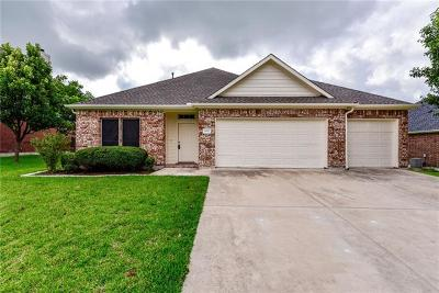 Pflugerville Single Family Home For Sale: 20817 Silverbell Ln