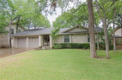 Round Rock Single Family Home For Sale: 1802 Hermitage Dr