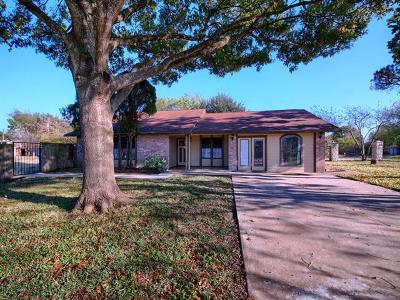 Pflugerville Single Family Home For Sale: 14415 Kodiak Ln