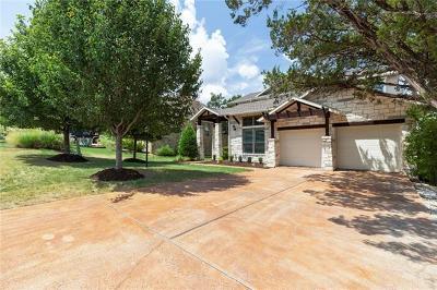 Lakeway Single Family Home For Sale: 109 Pierce Range Rd