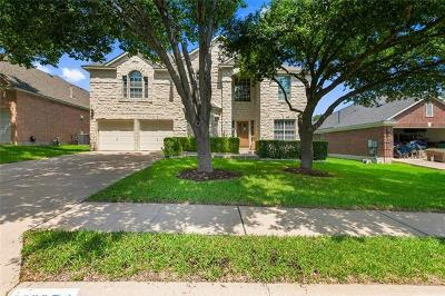 Round Rock Single Family Home For Sale: 3628 Flora Vista Loop