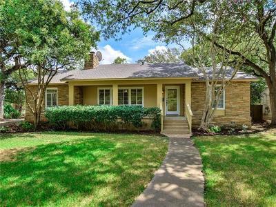 Austin Single Family Home For Sale: 4713 Highland Ter