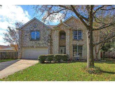 Cedar Park Single Family Home Pending - Taking Backups: 2005 Bent Bow Cv