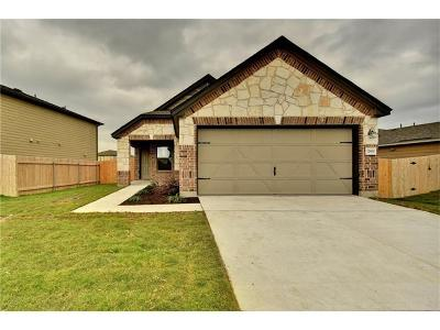 Manor Single Family Home For Sale: 12900 Fireside Chat