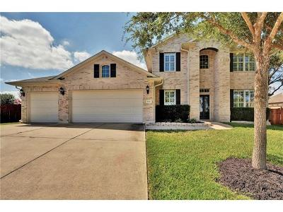 Cedar Park Single Family Home Active Contingent: 1214 Ritter Dr