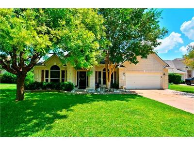 Pflugerville Single Family Home For Sale: 19217 Ventana Ct