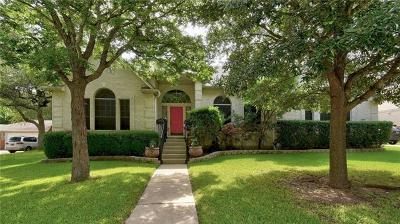 Round Rock Single Family Home For Sale: 3032 Indigo Trl