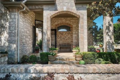 Austin Single Family Home Active Contingent: 11000 River Plantation Dr
