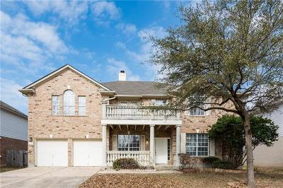 Round Rock Single Family Home For Sale: 7128 Avignon Dr