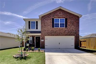 Jarrell Single Family Home For Sale: 509 Cleary Ln