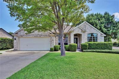 Cedar Park Single Family Home Pending - Taking Backups: 116 Bamboo Trl