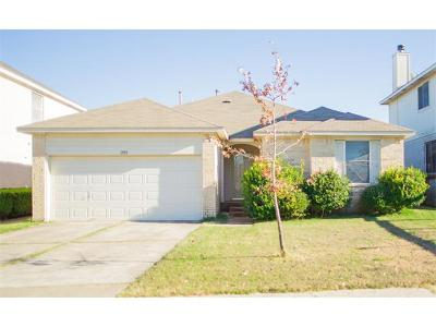 Pflugerville Single Family Home For Sale: 13913 Lampting Dr