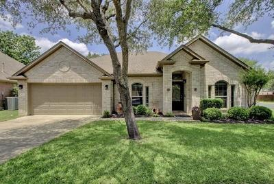 Round Rock Single Family Home For Sale: 8200 Miller Falls Dr