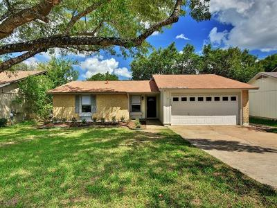 Hays County, Travis County, Williamson County Single Family Home Pending - Taking Backups: 3612 Alexandria Dr