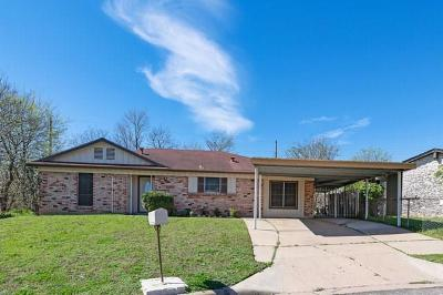 Hays County, Travis County, Williamson County Single Family Home For Sale: 2203 Cadiz Cir