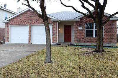Pflugerville Single Family Home For Sale: 15012 Lantern Dr