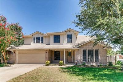 Leander Single Family Home For Sale: 900 Bordeaux Dr
