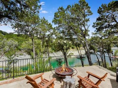 Lago Vista Condo/Townhouse For Sale: 3902 Red Bird Trl #B