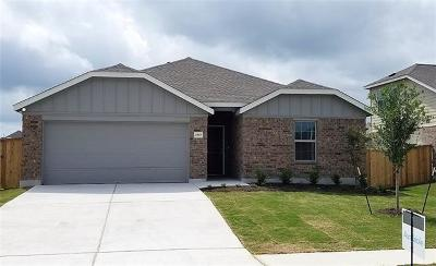 Round Rock Single Family Home For Sale: 11813 Voelker Reinhardt Way